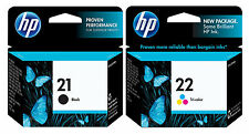 GENUINE NEW HP 21/22 (C9351AN/C9352AN) Ink Cartridge 2-Pack