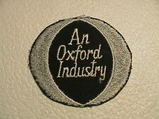 AN OXFORD INDUSTRY INDUSTRIAL PLASTIC RESIN CHEMICAL AGRICULTURE FARMING PATCH