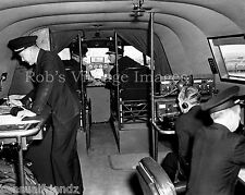 "Pan Am Clipper photo Boeing B-314 Flight Deck Flying Boat  1940 8""x10"""