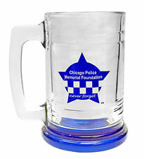 CPD Memorial Never Forget Glass 16 oz Stein Mug