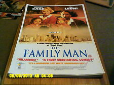 Family Man (nicholas cage, tea leone) A2 Movie Poster