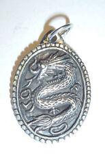 Anhänger Kette Drachen ECHT Silber 925 Fabelwesen Mystik Schlange Monster SS32