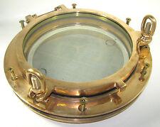 "Victory CH1570 Bronze 10"" Round Porthole 1-1/2"" Spigot, 10-3/8"" Cutout 90069-879"