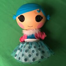 """Lalaloopsy Doll 7"""" Blue Hair Button Eyes Pink Bunny Slipper Cast Girls Toy 1J72"""