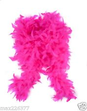 New Chandelle feather Boa pretend play princess tea party Valentines hot pink