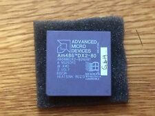 advanced Mircro Devices AMD Am486 dx2-80 cpu processor A80486DX2-80NV8T