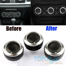 Air-condition Knob Control Panel Switch Buttons Fit For Mazda 3 M3 Axela (09-13)