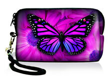 Butterfly Mini Carry Bag Case Pouch For Digital Camera,iPod Touch,iPhone,MP5