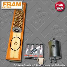 SERVICE KIT MERCEDES C200K W203 2.0 16V FRAM OIL AIR FUEL FILTER PLUG (2000-2002