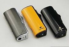 COHIBA BLACK TRIPLE TORCH LIGHTER W/PUNCH SHIPPED FAST FROM USA""