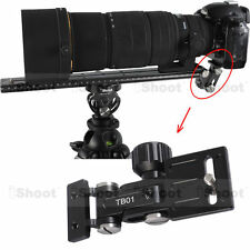 Telephoto Lens Bracket Long-Focus Holder fr Camera Ball Head Quick Release Plate