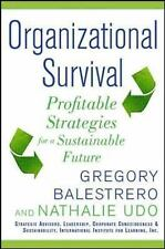Organizational Survival: Profitable Strategies for a Sustainable Future, Udo, Na