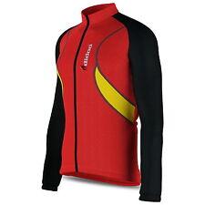 Da Uomo Maglia Termica Manica Lunga Con Zip Camicia Top Sport Outdoor In