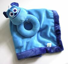Disney Baby Monster Inc Sulley security blanket ring rattle