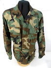 US Army Woodland Camouflage Uniform BDU Coat or Shirt - Size Med/Regular