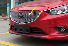 2013-2015 For Mazda 6 M6 Atenza Mesh Honeycomb Shape Front Centre Grille Cover