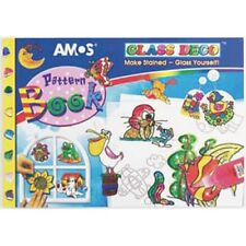 *NEW* AMOS Glass Deco Pattern Book - 82 pages