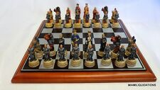 King Arthur's Court Chess Set Excalibur 916 RARE Collector's