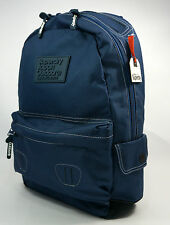 Superdry NEW True Montana Rucksack Backpack School Bag French Navy BNWT