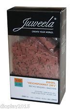 Juweela® Ziegelsteine 2000 St. dunkelrot 1:32/35 Modellbau, Diorama 23030*
