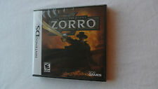 BRAND NEW Sealed Zorro: Quest for Justice (Nintendo DS, 2010)