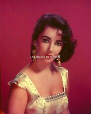 ELIZABETH TAYLOR Glossy 8X10 PHOTO PICTURE PRINT 1413