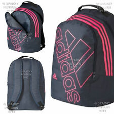 ADIDAS BLUE & PINK BACKPACK GIRLS LADIES WOMENS RUCKSACK SCHOOL STUDENT BAG