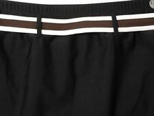 Ana Black Swim Suit Skirt Bottom 20W Bathing Suit With Brown Belt NWT Retail $46