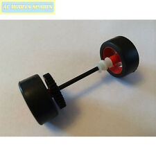 W10283 Scalextric Spares Rear Axle and Wheels for Chevrolet Camaro GT