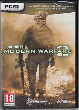 Call of Duty Modern Warfare 2  PC 2009 Brand New Sealed COD