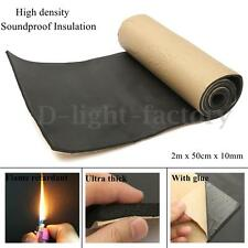 High Density Soundproof Insulation Thermal Closed Cell Foam Waterproof 2m x 50cm