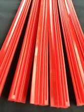 "12pcs. Car Superior Quality Silicone Wiper Blade (Refill) 26"" (6mm.) Red Color"