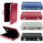 Unique Metal Mini Business Chic Suitcase Bank Card ID Name Card Holder Case Box