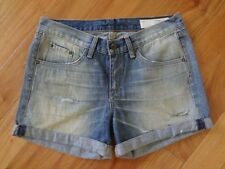 Rag & Bone/JEAN Rolled-Cuff Boyfriend Shorts Surfer Repair 27 NWT