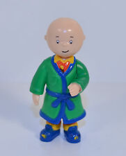 "2000 Caillou in Green Robe 2.5"" Irwin PVC Action Figure PBS Kids Treehouse"