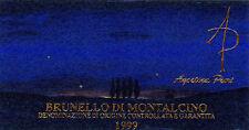 6 BT BRUNELLO DI MONTALCINO 2011 - AGOSTINA PIERI