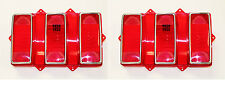 NEW! 1969 Mustang Lens Kit Tail light Taillight Pair Both Left and Right Lenses