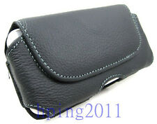 Leather Case bag For Samsung Galaxy S3 i9300 S4 I9500 I9250 Hanging waist clip