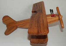3D Airplane Wooden Cribbage Board 2 Player Handmade Gift 4 Pegs (2 Black 2 Red)