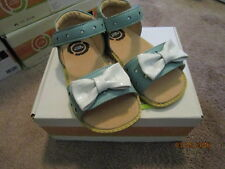 SIZE 13 BLUE LEATHER SANDALS NEW LIVIE & LUCA MINNIES BOUTIQUE SHOES