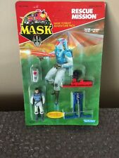 M.A.S.K. RESCUE MISSION BRUCE SATO KENNER UN-PUNCHED 1986 MASK