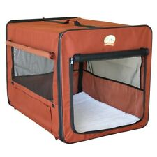 Go Pet Club Soft Crate For Pets, 32-Inch, Brown AB32 Crate for Pets NEW