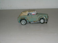 SLOT CAR COLLECTIBLE: AFX V.W. THING BATTLE RAVAGED GREEN #1931 `75-`77