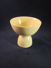 Vintage Taylor Smith & Taylor LuRay Pastels Yellow Double Egg Cup