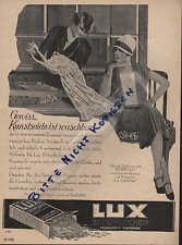 MANNHEIM, Werbung / Anzeige 1928, Sunlicht Gesellschaft AG LUX Seifen-Flocken