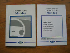 Ford Mondeo Owners Handbook/Manual 97-00