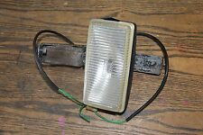 Volvo 242 240 GT front grill fog light assembly - one