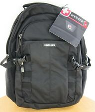 "New  Wenger 'Response' 16"" Computer Backpack -  Black - New with Tags"