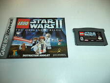LEGO Star Wars II: The Original Trilogy (Nintendo Game Boy Advance) with Manual!