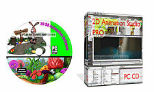 2D Graphics Animation Software Create Full Cartoons Modelling Graphic Design